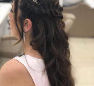 örgü model saç